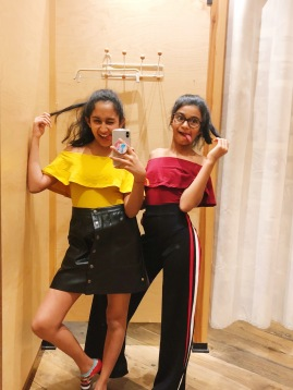 Shopping with Yana