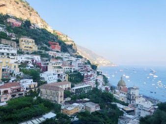 This was in Positano which is so so beautiful ♥️